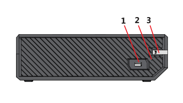 get to know xbox one or xbox one s console buttons and ports diagram of memory slots in the computer drawing of the side of the xbox one s console