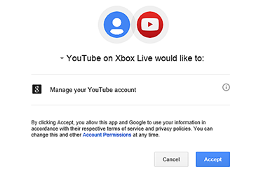 Sign In to Your YouTube Account from Xbox Live | YouTube