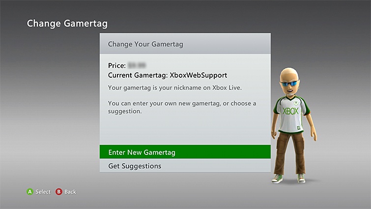 How to Change Your Xbox Live Gamertag