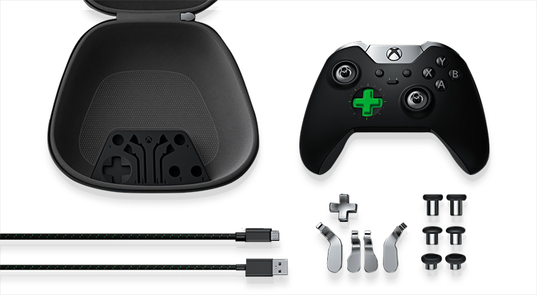 Xbox Elite Wireless Controller Components