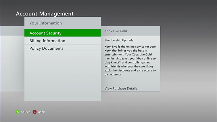 Password Protect Your Xbox Live Profile | Change Sign-In