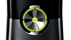 Voyant vert clignotant sur le bouton d'alimentation de la console Xbox360