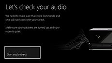 Calibrate the microphone on your Kinect sensor
