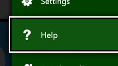 Get help from your Xbox One console