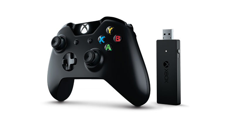 Xbox One Controller and Wireless Adapter for Windows 10