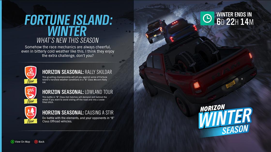 Forza Motorsport - FH4 Season Update | Series 5 – Winter