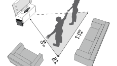 Configuration de Kinect Xbox360 et aire de jeu