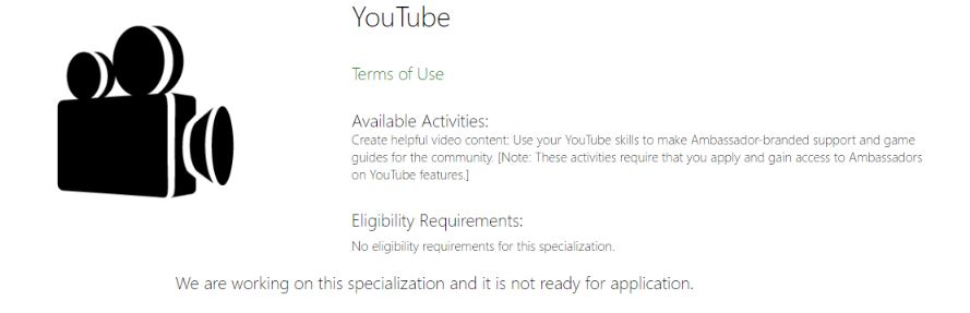 YouTube Join Page
