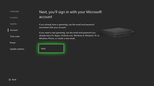 Sign In To Xbox Live On Your Xbox One