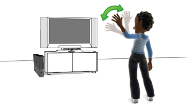 kinect xbox dashboard kinect voice and gestures kinect motion rh support xbox com Operators Manual Owner's Manual
