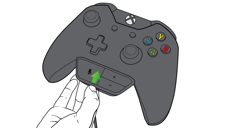 An illustration shows the headset controls being plugged into the controller.