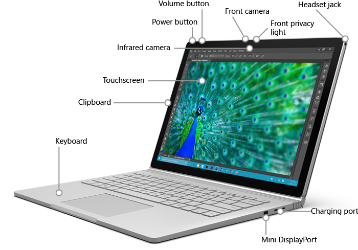 microsoft surface book features surface book overview. Black Bedroom Furniture Sets. Home Design Ideas