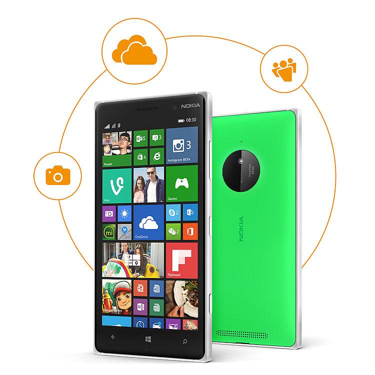 Nokia Lumia 830 vs Nokia Lumia 930