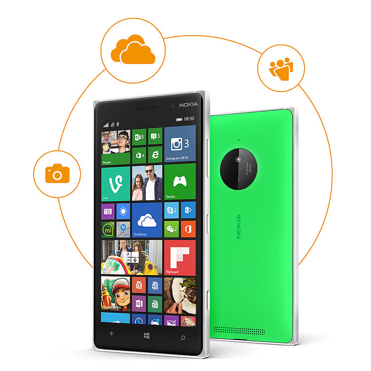 Nokia Lumia 830 vs Nokia Lumia 930