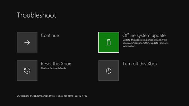 Xbox One System Updates | Offline System Updates