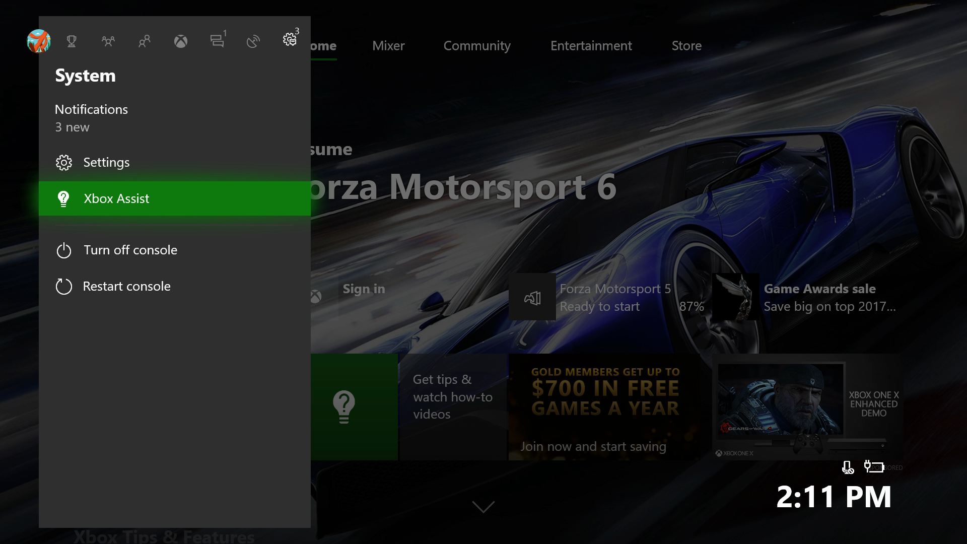 Get Help Using the Xbox Assist