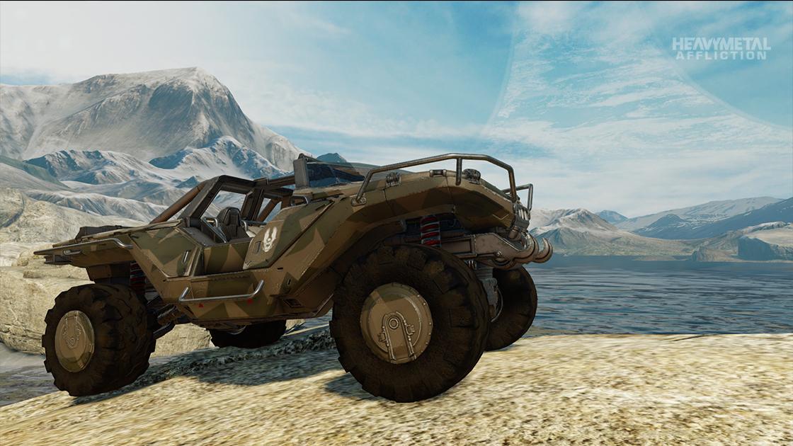 Forza Motorsport - Heavy Metal Affliction - 2554 AMG Dynamics M12S