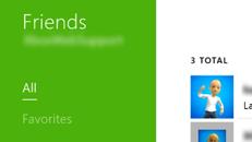 Zobrazenie aktivít priateľov v konzole Xbox One
