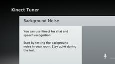 Uso del Configurador de audio de Kinect