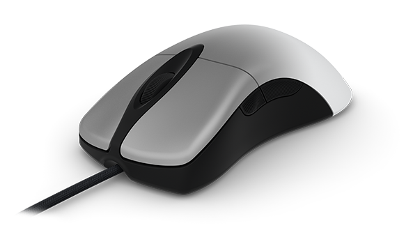 Microsoft Pro IntelliMouse in Silver Cooper
