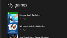 De lijst Mijn games beheren in de Xbox Console Companion-app in Windows 10
