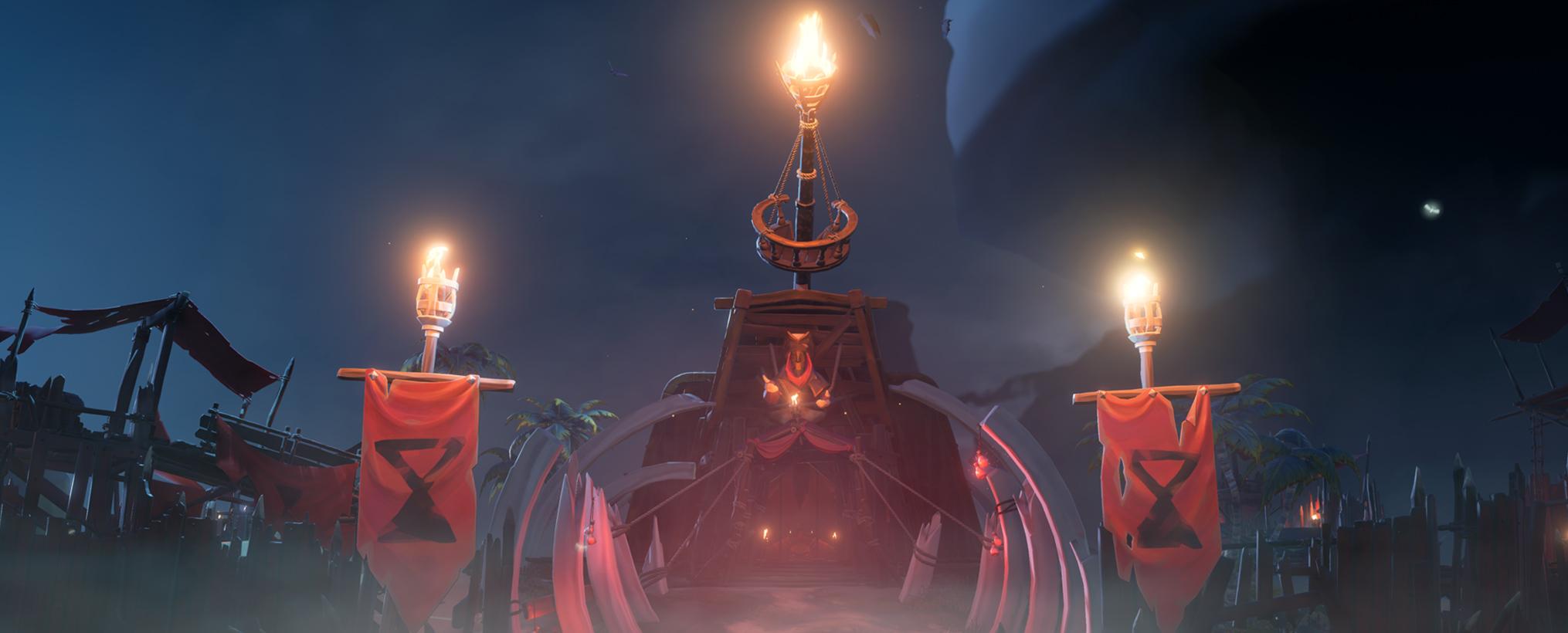 Nuevo vídeo de Sea of Thieves explica cómo interactuar con los emisarios de Ships of Fortune 2