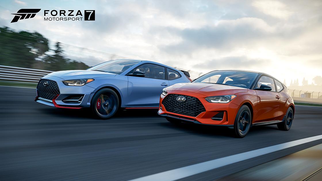 Forza Motorsport - Hyundai Veloster Free Car Pack