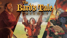 Collage de imágenes de The Bard's Tale Trilogy.