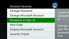 Using a pass code and controlling access to Xbox Live on your Xbox 360