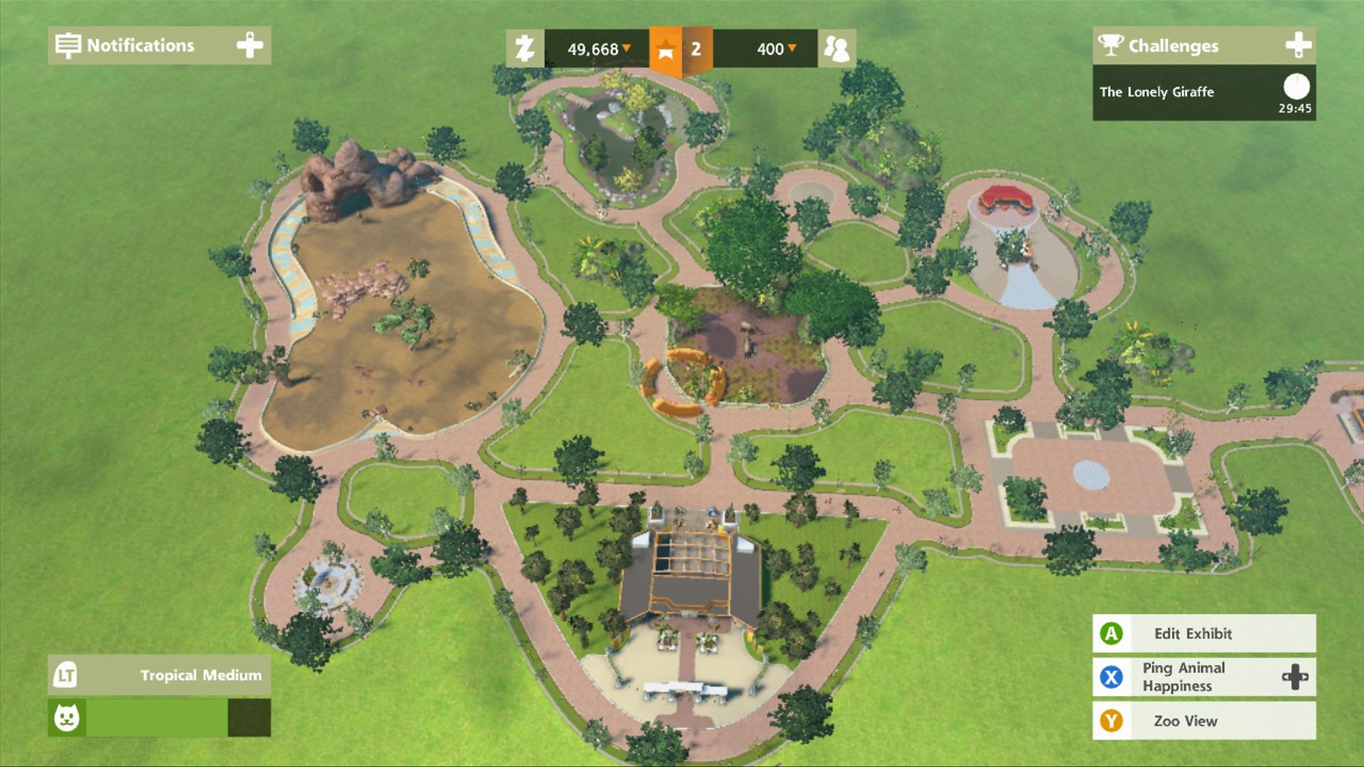 Zoo Tycoon XBOX 360 ESPAÑOL (Region FREE) (XGD3) (STRANGE) 4
