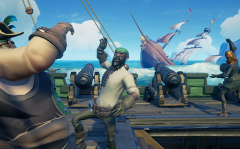 beta ouverte sea of thieves