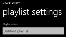 Opret, rediger og slet afspilningslister på din Windows Phone 8