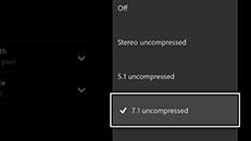 Dårlig eller ingen lyd fra den set-top-boks, der er tilsluttet din Xbox One