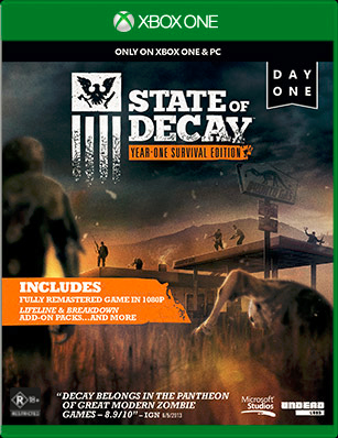 State of Decay box shot