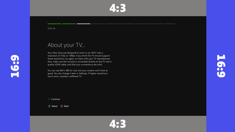 tv resolutions for xbox one