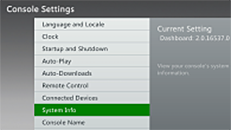 Change your Xbox 360 settings