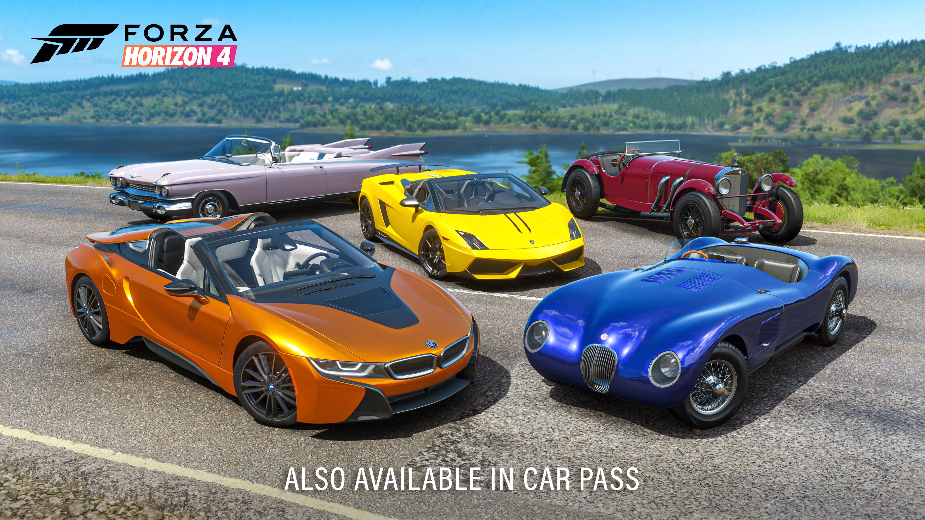 Open Top Car Pack
