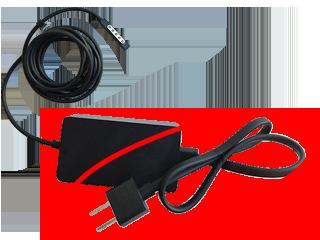 Surface Pro 電源供應器類型 A (美規) 與 DC 電線