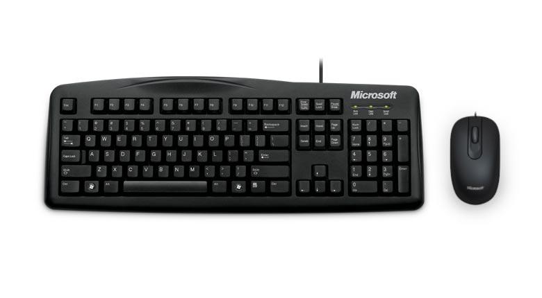 Microsoft 標準滑鼠鍵盤組 200