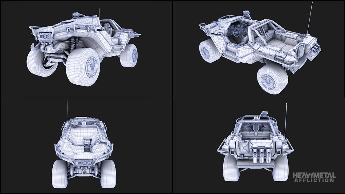 Forza Motorsport - Heavy Metal Affliction - 2554 AMG