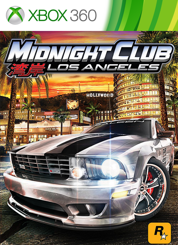 Midnight Club Los Angeles boxshot