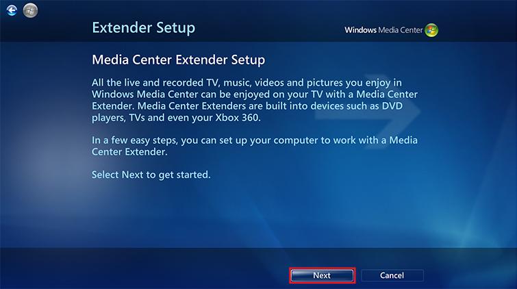 Updating xbox media centre