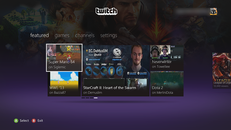 Set Up and Use TwitchTV App on Xbox 360