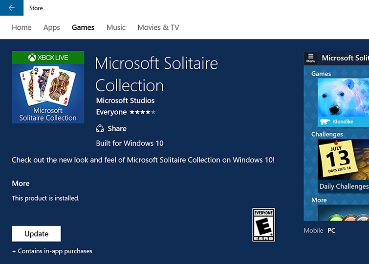 Microsoft Casual Games FAQ | Games for Windows