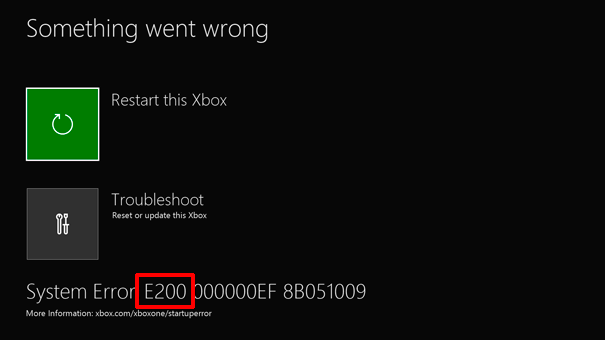 Xbox repair status not updating