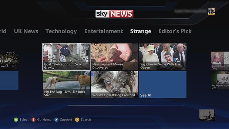 Install Sky News | Xbox 360