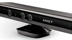 Komponentene i Kinect-sensoren for Xbox 360
