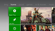 Use Kinect with the Xbox Dashboard