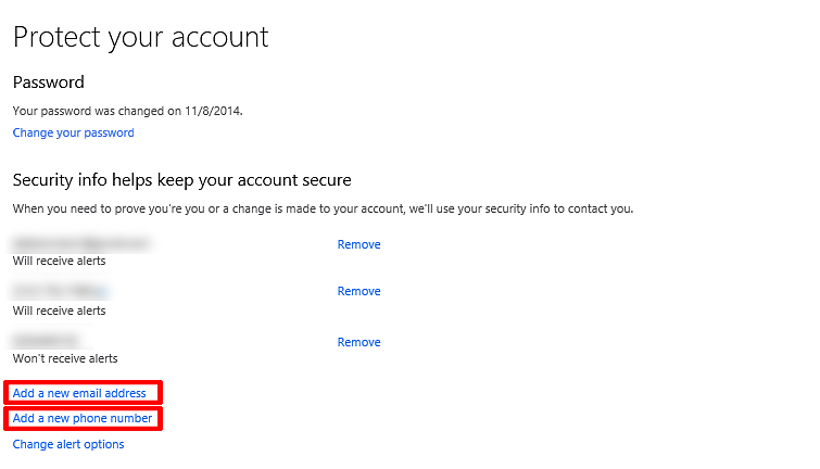 Add Security Information to Your Microsoft Account