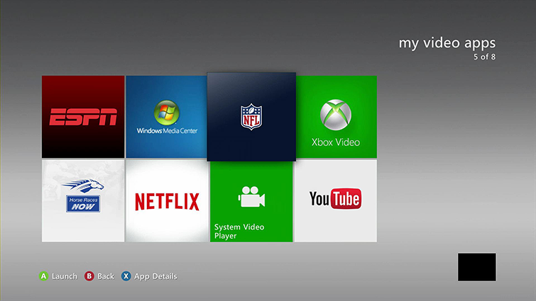 Set Up and Use the NFL on Xbox 360 App | Xbox 360